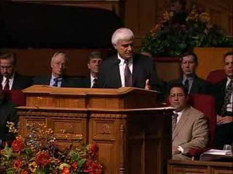 Ravi Zacharias at Mormon Temple
