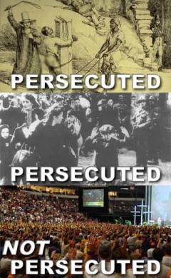 Persecuted Not Persecuted