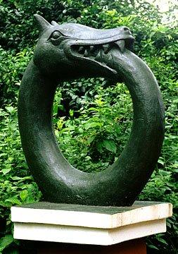 snake eat tail