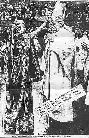 Pope and false religion