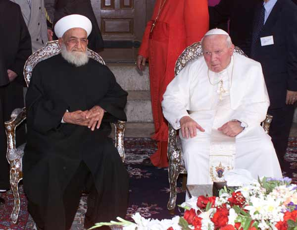 Pope and Islam