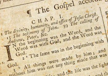 Jesus is God John-1-old-bible