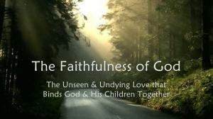 the_faithfulness_of_god
