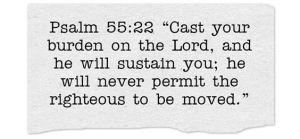 psalm55v22