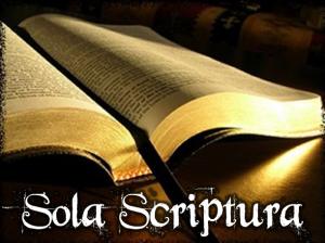sola scriptura