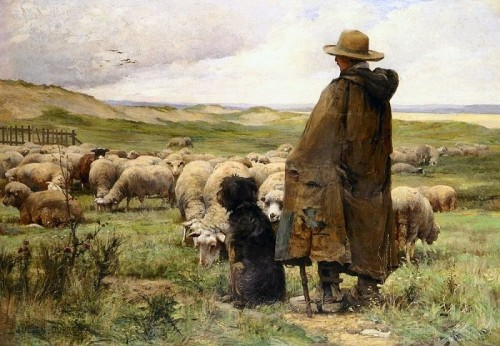 The Shepherd and His Sheepdogs