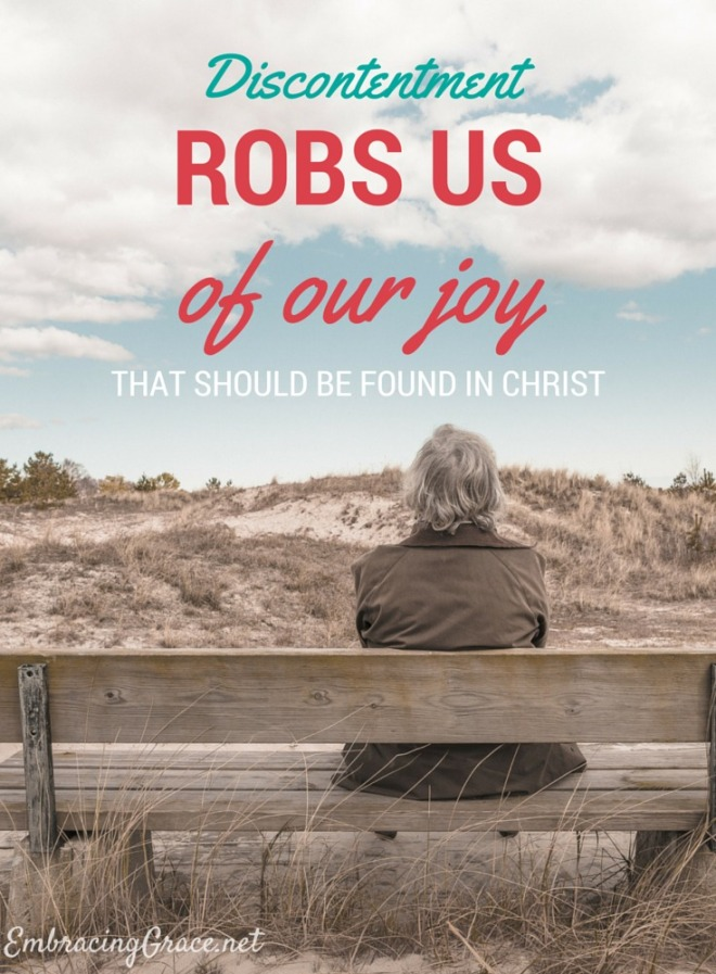 discontentment-robs-us