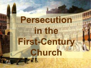 persecution-1stcentury